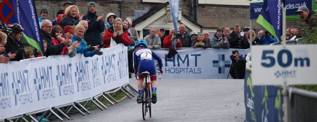 6 year old smashing the hill climb