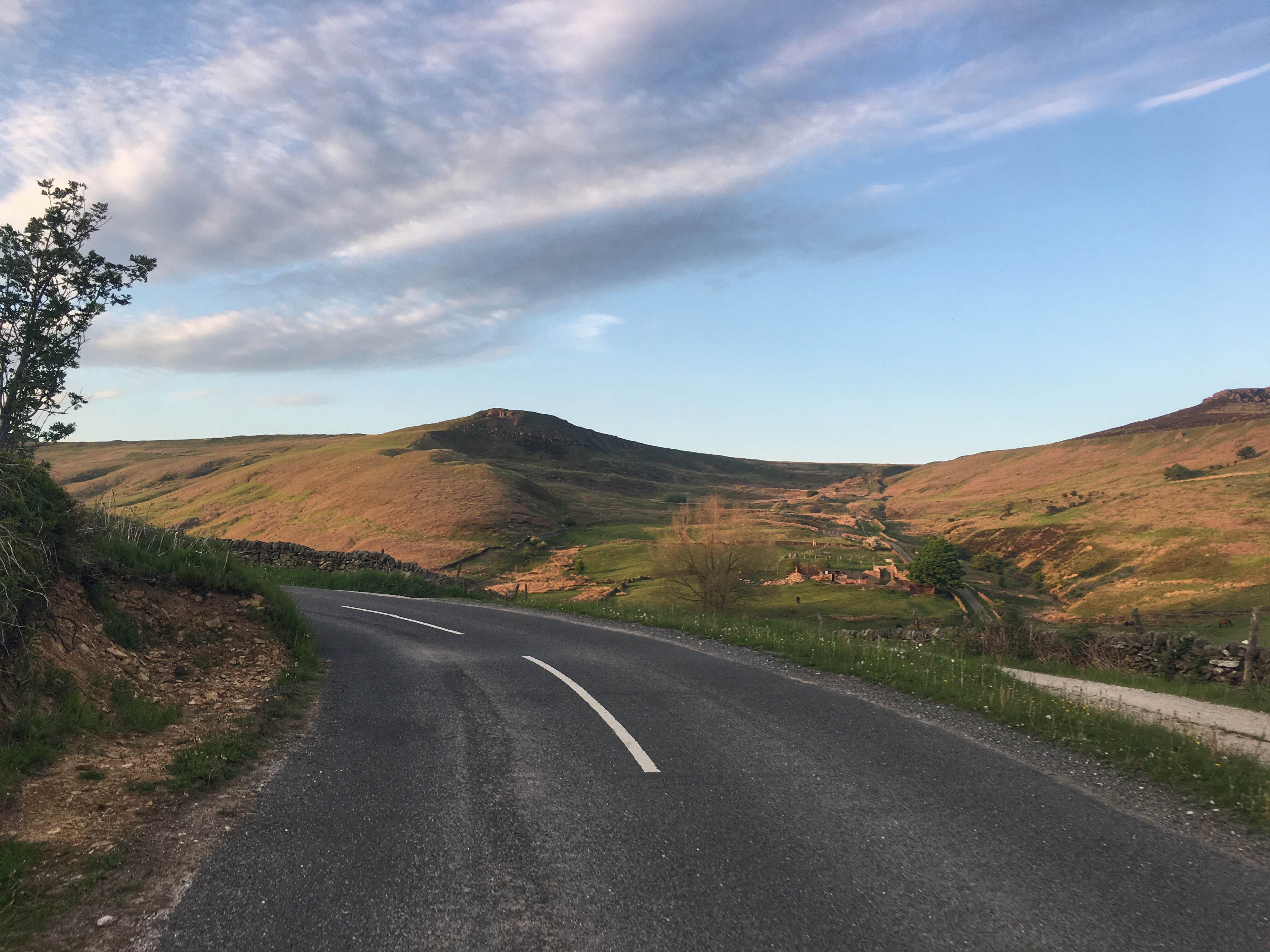The Dale climb – Hathersage – Peak District