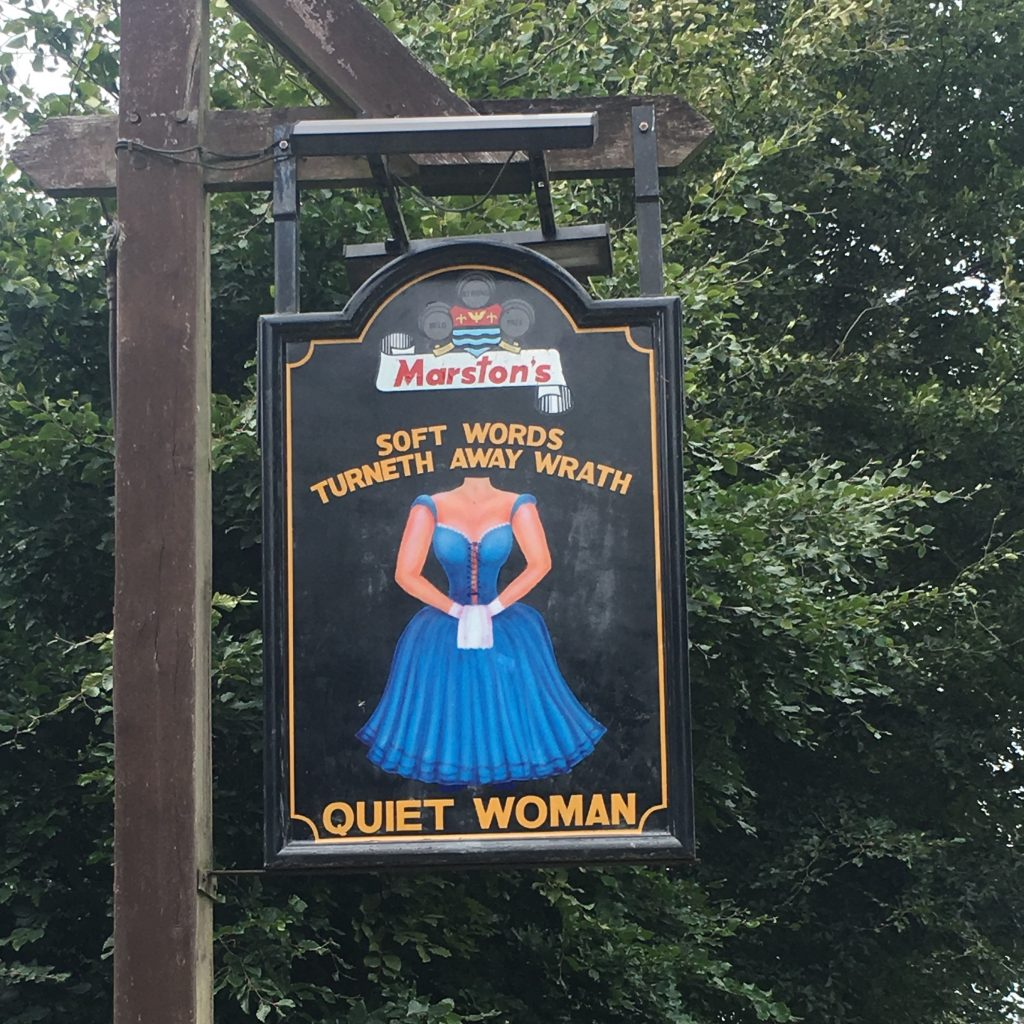 The Quiet Woman Earl Sterndale