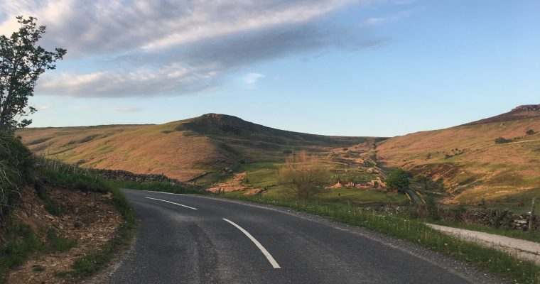 The Dale climb – Hathersage – Peak District