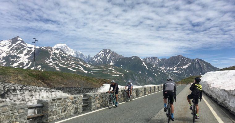 Bourg Saint-Maurice, La Rosiere, Petit St Bernard and into Italy (& back) – French and Italian Alps